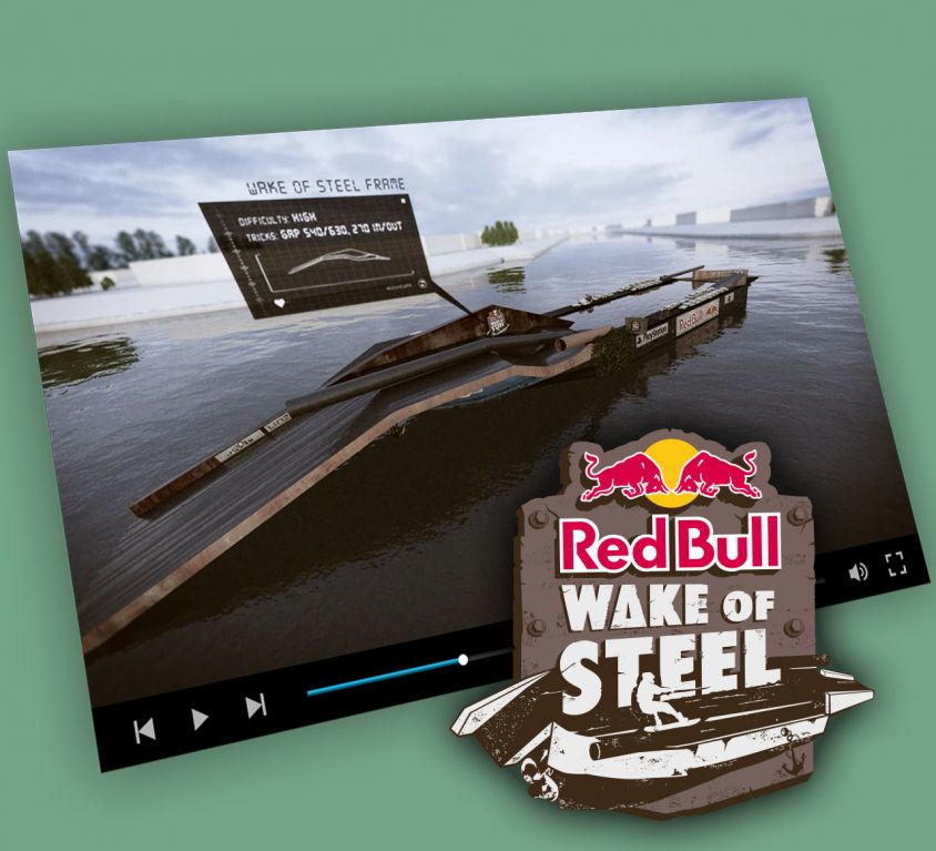 Red Bull Wake of Steel